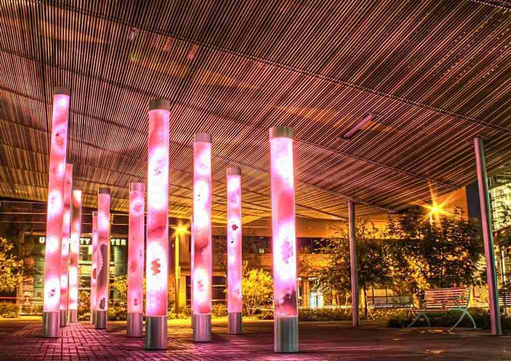 phoenix lights near local businesses